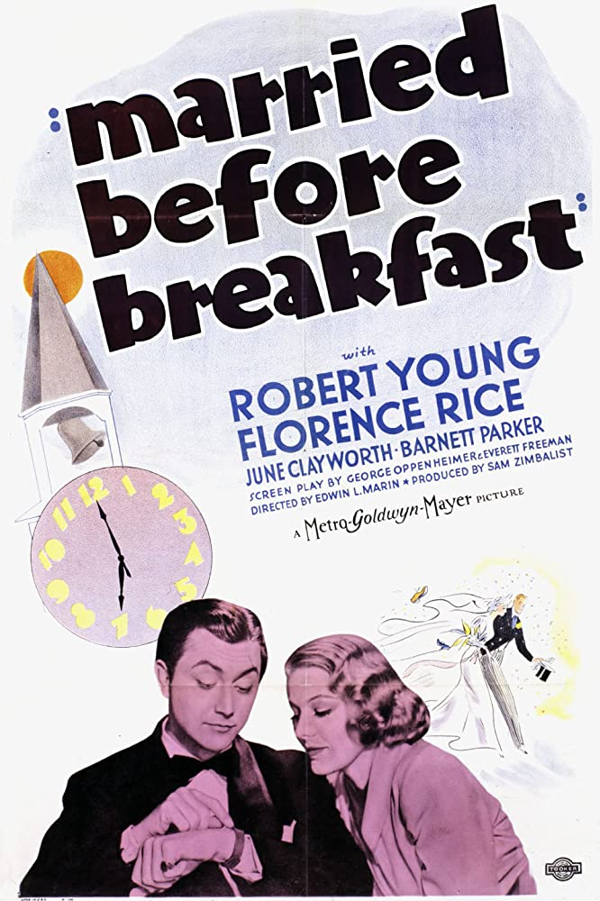 Robert Young and Florence Rice in Married Before Breakfast (1937)