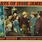 Roy Rogers, Fred Burns, George 'Gabby' Hayes, Arthur Loft, Pauline Moore, and Harry Woods in Days of Jesse James (1939)