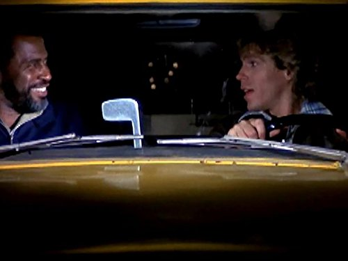 Jeff Conaway and Scoey Mitchell in Taxi (1978)