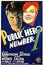 Public Hero Number 1 (1935) Poster