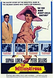 The Millionairess (1960) Poster - Movie Forum, Cast, Reviews