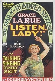 Listen, Lady Poster