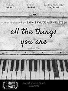 Italian Movies Downloads All The Things You Are Hd1080p Dvdrip By Sara Taylor Mermelstein