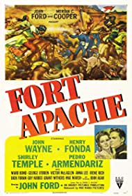 Shirley Temple and John Agar in Fort Apache (1948)