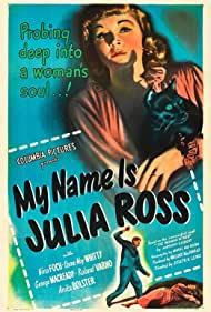 My Name Is Julia Ross (1945) Poster - Movie Forum, Cast, Reviews