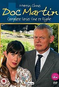 Caroline Catz and Martin Clunes in Doc Martin (2004)