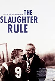 The Slaughter Rule Poster