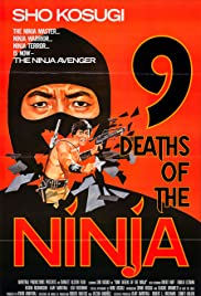 Nine Deaths of the Ninja Poster