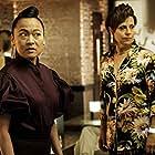 Rebecca Front and Suzy Nakamura in Avenue 5 (2020)