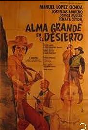 Alma Grande en el desierto Poster