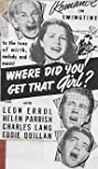 Where Did You Get That Girl? (1941) Poster