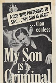 My Son Is a Criminal Poster