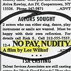 Lee Wilkof in No Pay, Nudity (2016)