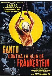 Santo vs. Frankenstein's Daughter(1972) Poster - Movie Forum, Cast, Reviews