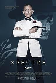 Jesper Christensen, Daniel Craig, Naomie Harris, Ben Whishaw, Tenoch Huerta, Stephanie Sigman, and Marco Zingaro in Spectre (2015)