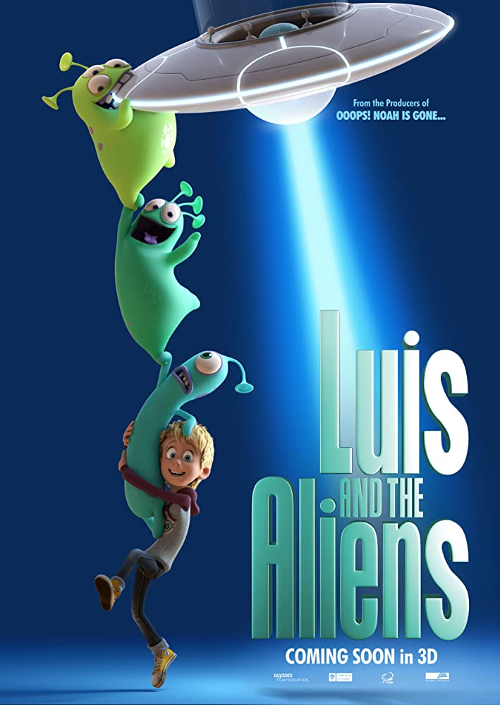 Luis & The Aliens 2018 Full Movie Bluray HD and Full HD | HDRip | Free Download