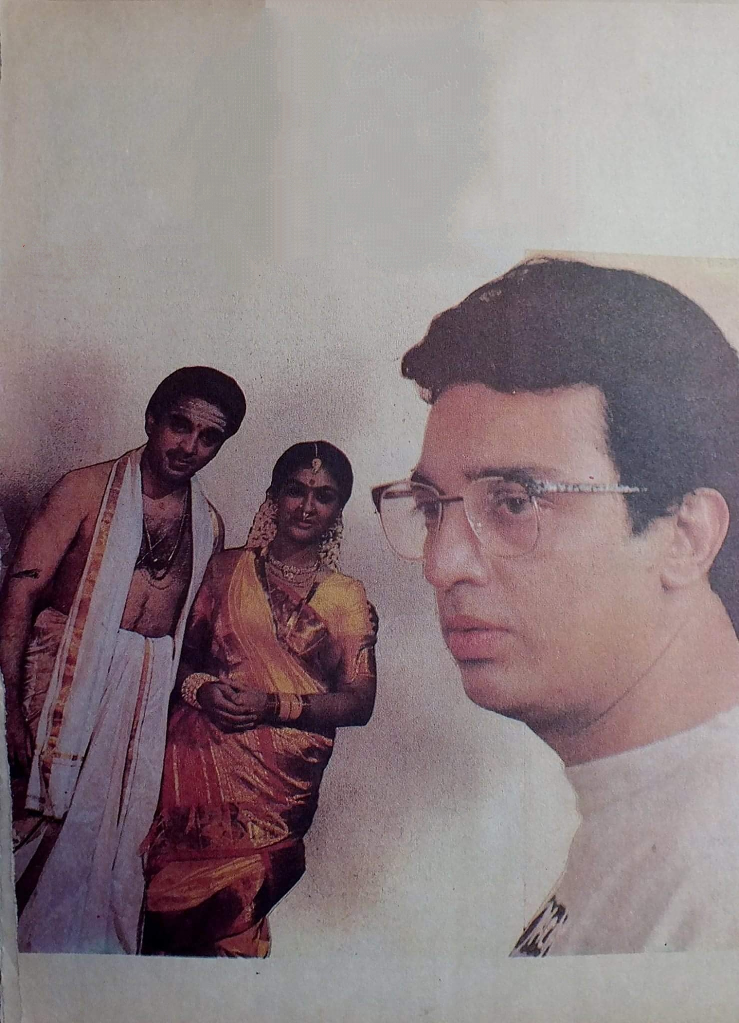 Kamal Haasan and Urvashi in Michael Madana Kama Rajan (1990)