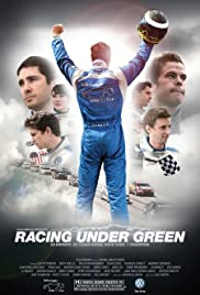Racing Under Green Poster