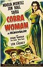 Cobra Woman (1944) Poster