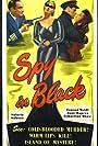 June Duprez, Valerie Hobson, Sebastian Shaw, and Conrad Veidt in The Spy in Black (1939)