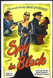 The Spy in Black Poster