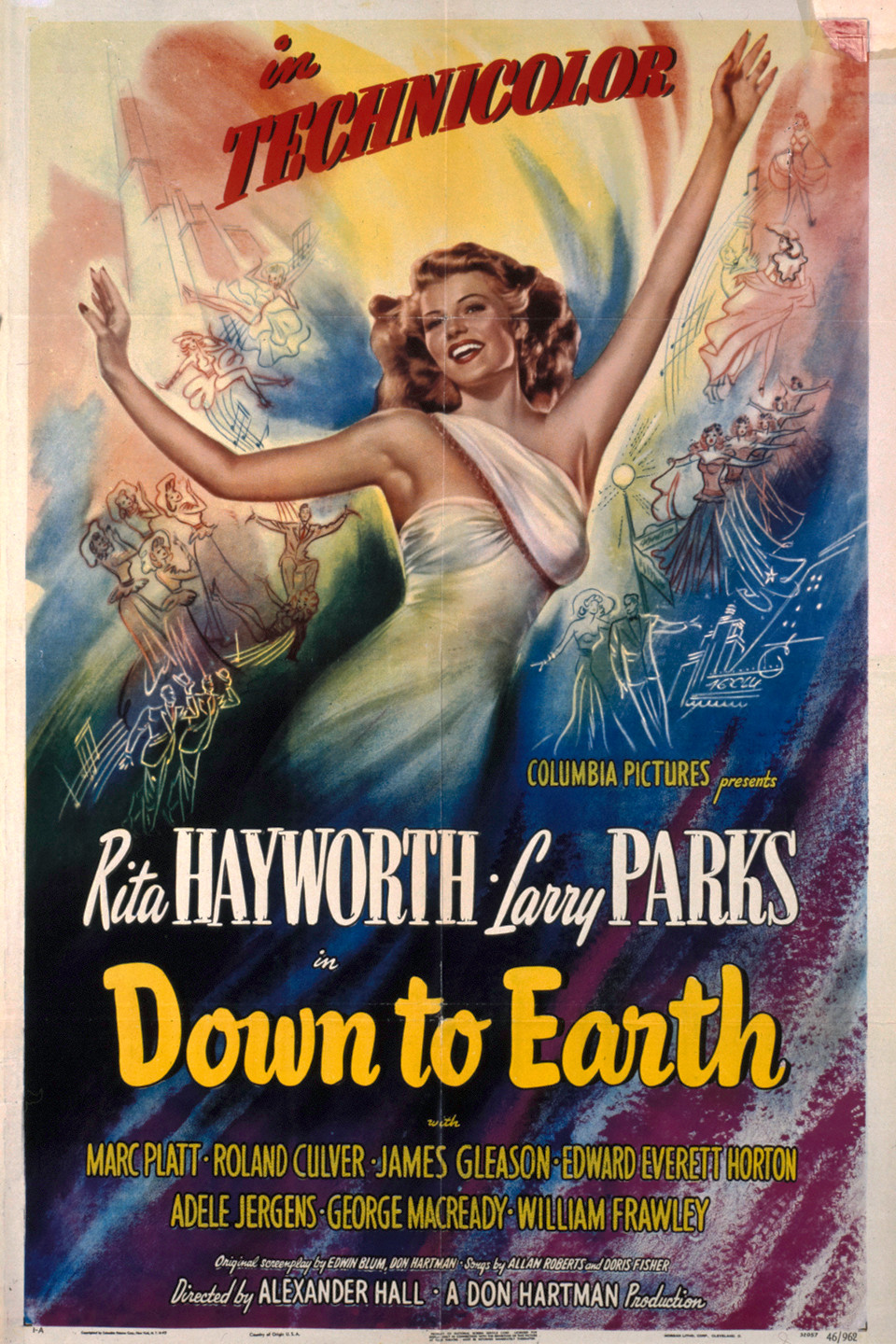 Down to Earth (1947) - IMDb