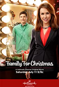 Lacey Chabert and Tyron Leitso in Family for Christmas (2015)