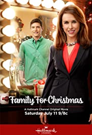 family for christmas poster