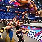 Nicola Glencross, Ashley Fliehr, and Demi Bennett in WWE SummerSlam (2021)