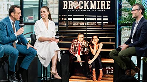 BUILD: Amanda Peet Discusses Her Character In Brockmire