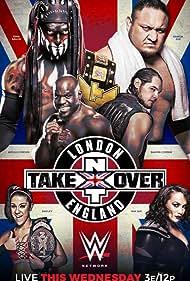 Joe Seanoa, Pamela Martinez, Fergal Devitt, Sesugh Uhaa, Tom Pestock, and Savelina Fanene in NXT TakeOver: London (2015)