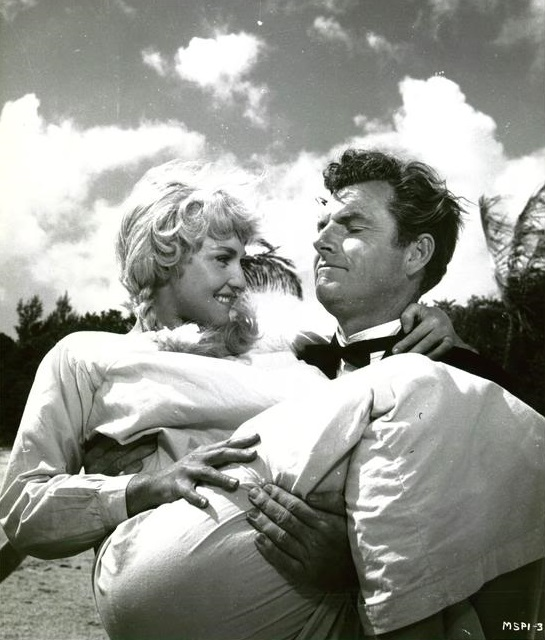 Diane Cilento and Kenneth More in The Admirable Crichton (1957)