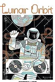 Lunar Orbit Poster
