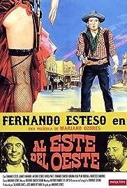 Al este del oeste Poster
