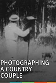 Photographing a Country Couple Poster