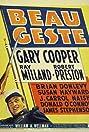 Beau Geste (1939) Poster