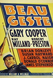 Beau Geste (1939) Poster - Movie Forum, Cast, Reviews