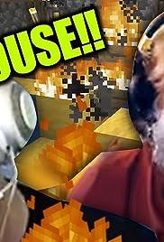 Jack Black BURNED down my Minecraft House!! Poster
