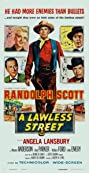 A Lawless Street (1955) Poster