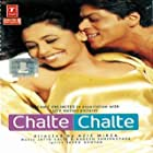 Shah Rukh Khan and Johnny Lever in Chalte Chalte (2003)