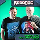 Ronny Cox and Gary Smart in RoboDoc: The Creation of RoboCop