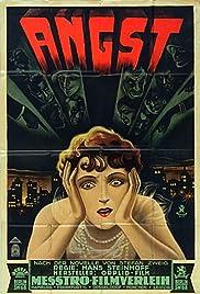 Angst - Die schwache Stunde einer Frau Poster