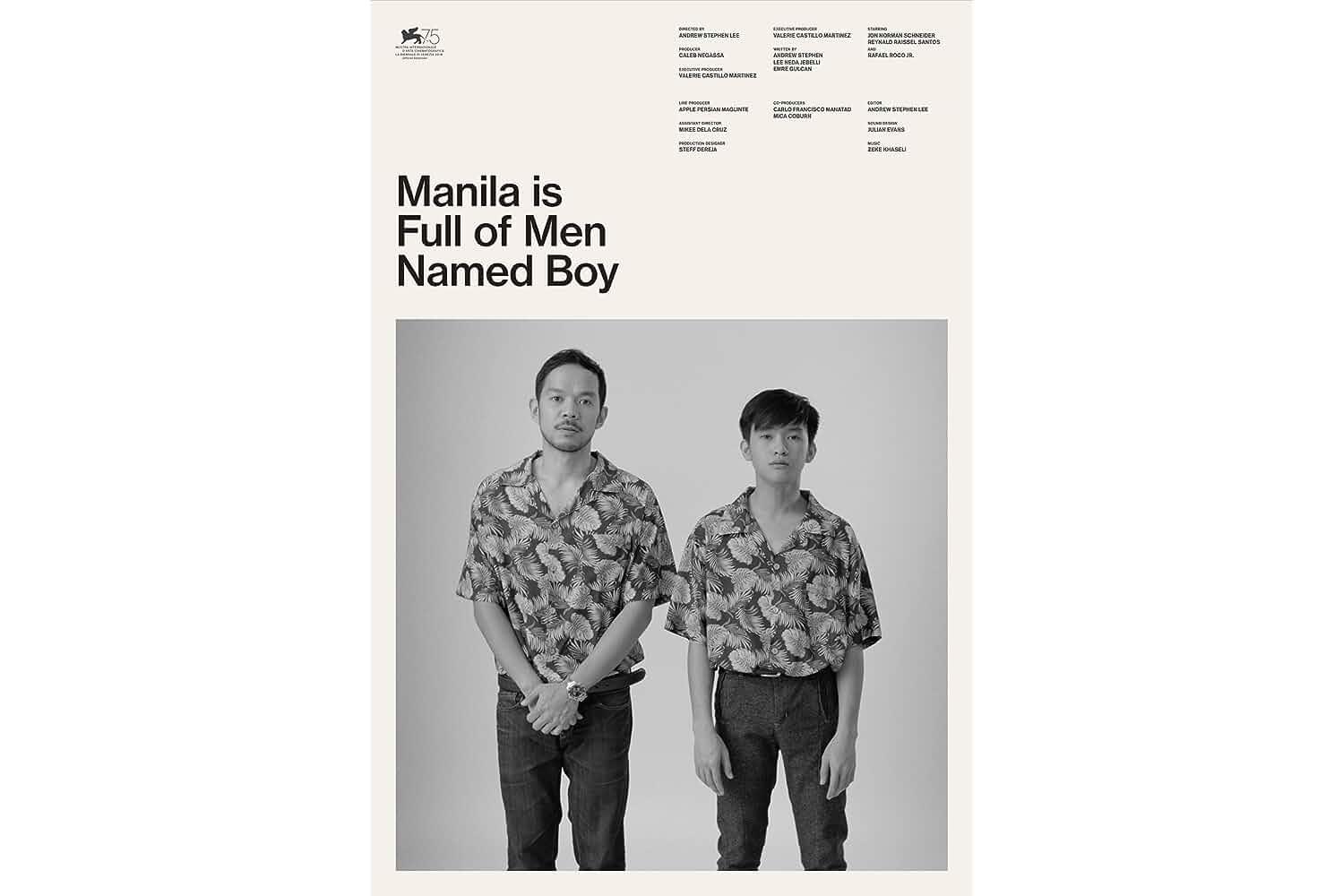 Manila Is Full of Men Named Boy (2018)
