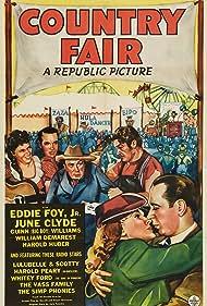 June Clyde, William Demarest, Eddie Foy Jr., Guinn 'Big Boy' Williams, Myrtle Wiseman, and Scotty Wiseman in Country Fair (1941)