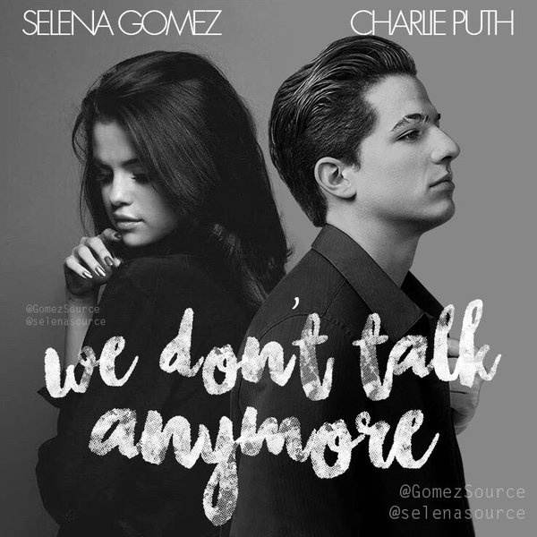 Charlie Puth Feat Selena Gomez We Dont Talk Anymore Video 2016