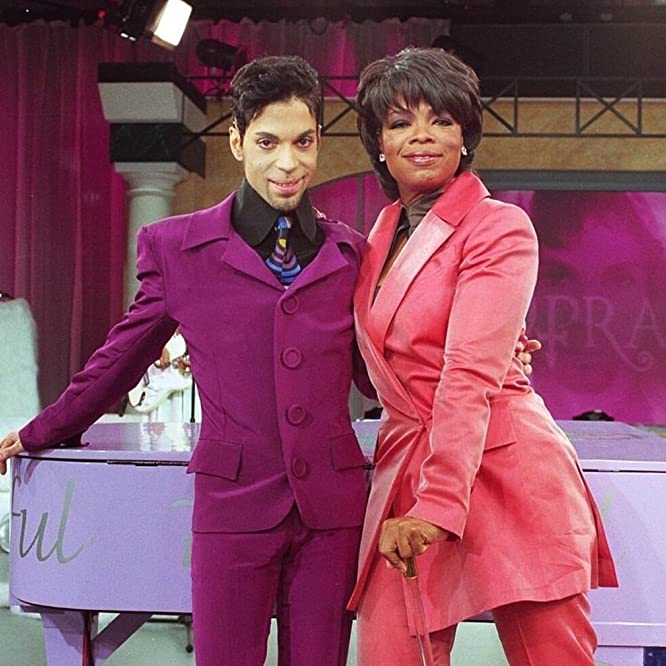 Oprah Winfrey and Prince in The Oprah Winfrey Show (1984)