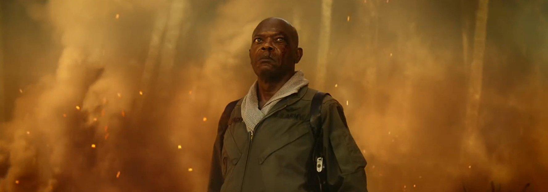 Samuel L. Jackson in Kong: Skull Island (2017)