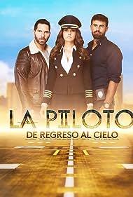 Arap Bethke, Livia Brito, and Juan Colucho in La piloto (2017)