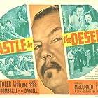Douglass Dumbrille, Steven Geray, Lenita Lane, Edmund MacDonald, Sidney Toler, and Victor Sen Yung in Castle in the Desert (1942)