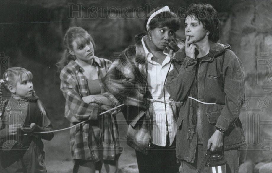 Telma Hopkins, Ashleigh Sterling, Nicki Vannice, and Cindy Williams in Getting By (1993)